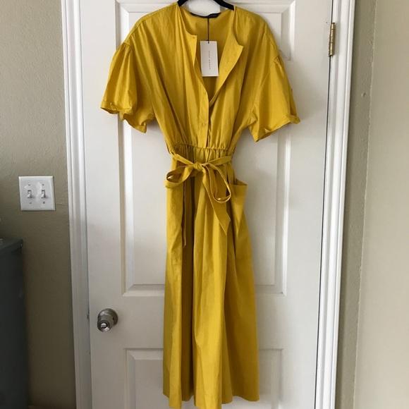 1bc8bf54 Zara Dresses | Yellow Summer Dress | Poshmark